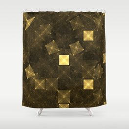 Energy of the Great Pyramids Shower Curtain