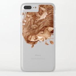 Flutter Clear iPhone Case