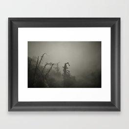 This eerie Feeling Framed Art Print