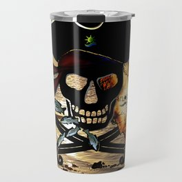 Fishing with a Florida Pirate Travel Mug