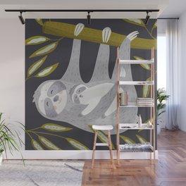 Love you – Sloth Wall Mural