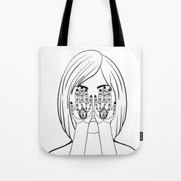 Persian Tatto Style(Hanna) Tote Bag