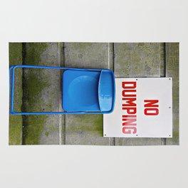 Blue Chair  Rug