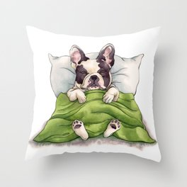 Bubba Sleeping Throw Pillow