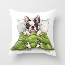Bubba Sleeping Throw Pillow