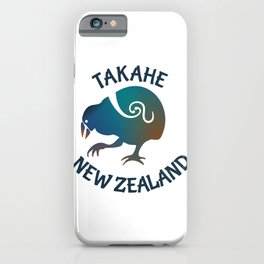 TAKAHE New Zealand Native bird iPhone Case