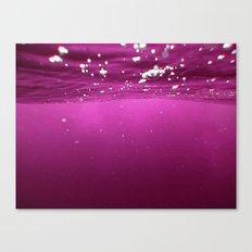 Pink Velvet Ocean Canvas Print