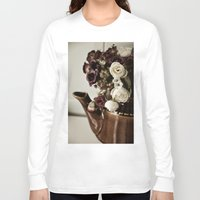 vintage flowers Long Sleeve T-shirts featuring Vintage flowers by EleonoraVasco
