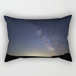 Somewhere in the Deschutes Rectangular Pillow