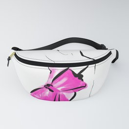 Pink Big Bow Fanny Pack