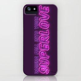 SuperLove / Charli XCX iPhone Case