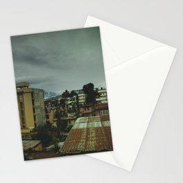 Kathmandu City Roof Top 003 Stationery Cards