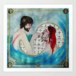 Personal Catastrophe Art Print