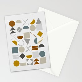 Mid West Geometric 01 Stationery Cards