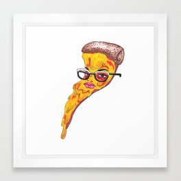 pixxa face Framed Art Print