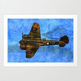 036 Bristol Blenheim Art Print