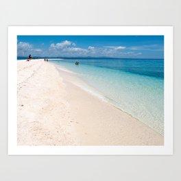 Kalanggaman Island, Leyte, Philippines Art Print