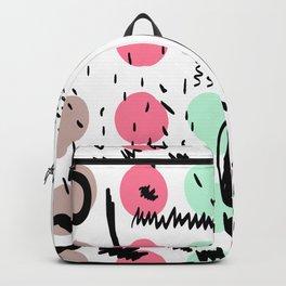 Abstract circles Backpack