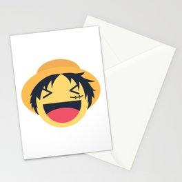 Monkey D. Luffy Emoji Design Stationery Cards
