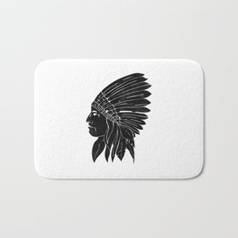 Indian Chief / Black Edition Bath Mat