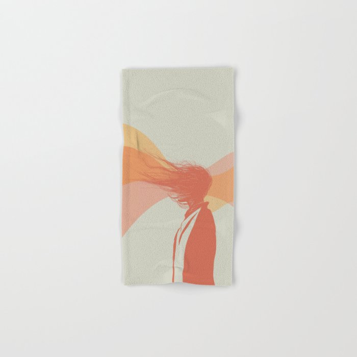 Woman Color 5 Hand & Bath Towel