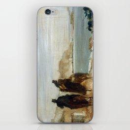 Promenade by the Sea by Edgar Degas iPhone Skin