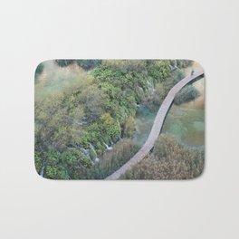 Plitvice National Park Boardwalk Croatia Bath Mat