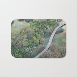 Plitvice National Park Boardwalk Croatia Bath Mat