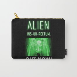 ALIEN INS-UR-RECTUM. Movie Poster. Carry-All Pouch