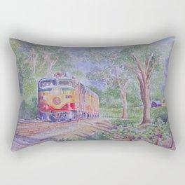 Peaceful Ride Through Napa Valley Rectangular Pillow