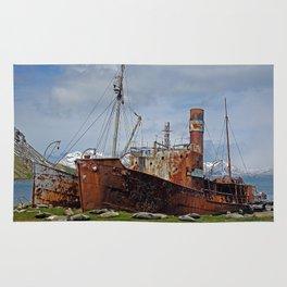 Abandoned Whaling Ships Rug