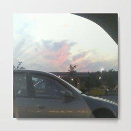 Devilish Cloud ( devil in the sky) Metal Print