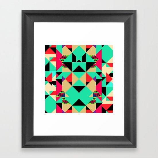 Colour Cuts #2 Framed Art Print