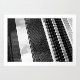 LA Daze - Los Angeles Skyline Series 1 Art Print