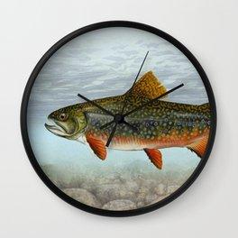 Lurking Fish Wall Clock