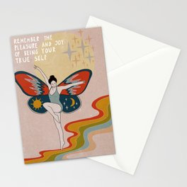 Remember the pleasue Stationery Cards