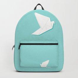 Origami pigeon Backpack