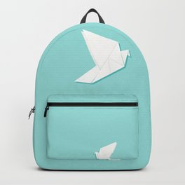 Origami pigeon Backpack