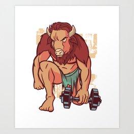 Buffel Art Print