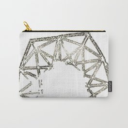 Melted geometry Carry-All Pouch