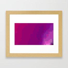 ABSTRACT PIXELS #0017 Framed Art Print