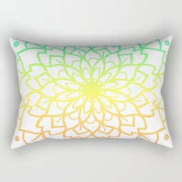 RAINBOW MANDALA Rectangular Pillow