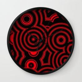 pattern clasic Wall Clock
