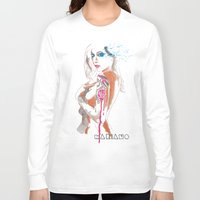 gypsy Long Sleeve T-shirts featuring Gypsy by Mariano Daniel