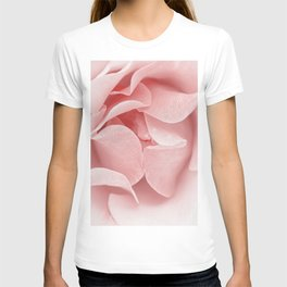 Pink flora Rose Bud- Roses and flowers T-shirt