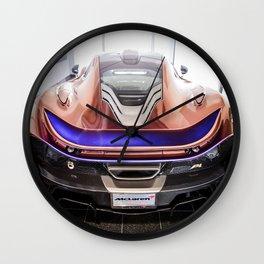 McLaren P1 - Cerberus Pearl - Rear Wall Clock