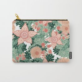 Succulents in Bloom Carry-All Pouch