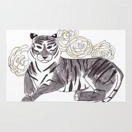 Tiger + Carnation Rug