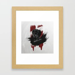 Of Blood And Stone Framed Art Print