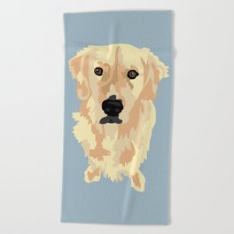 Doug Beach Towel